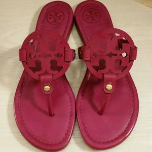 •RARE• Miller Sandals in Party Fuschia Pink